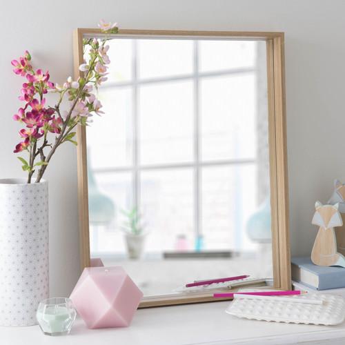 miroir en bois naturel h 51 cm elin maisons du monde. Black Bedroom Furniture Sets. Home Design Ideas