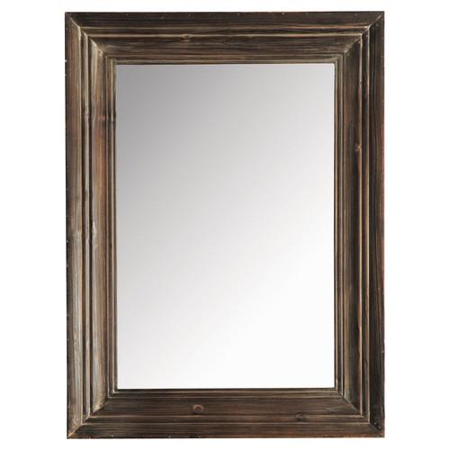Specchio esterel scuro 60 x 80 maisons du monde for Lo specchio scuro