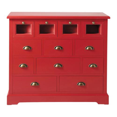 comptoir grainetier rouge. Black Bedroom Furniture Sets. Home Design Ideas