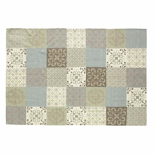 tapis motifs carreaux de ciment 160 x 230 cm provence maisons du monde. Black Bedroom Furniture Sets. Home Design Ideas