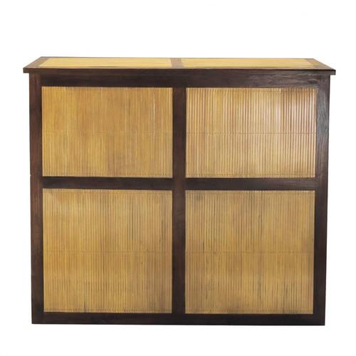 Mueble bar bamboo maisons du monde - Mueble tv maison du monde ...