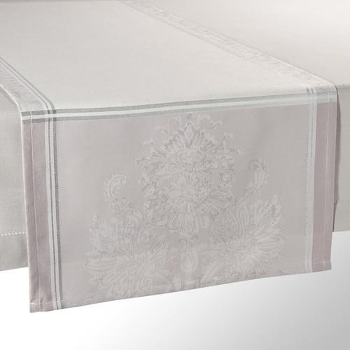 chemin de table en tissu gris l 150 cm palace maisons du. Black Bedroom Furniture Sets. Home Design Ideas