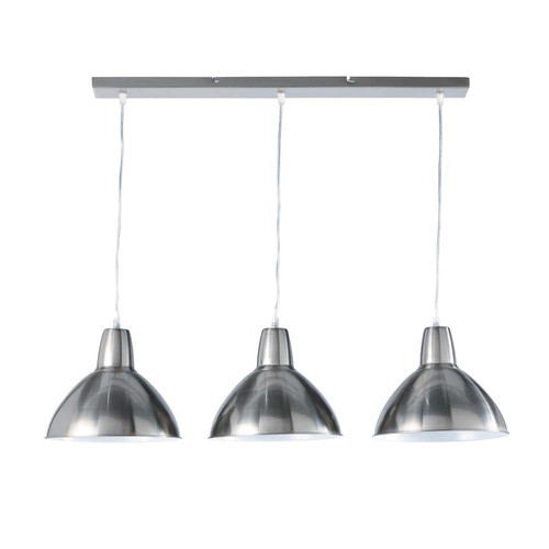 Suspension triple r glable en m tal l 95 cm edison for Luminaire triple suspension