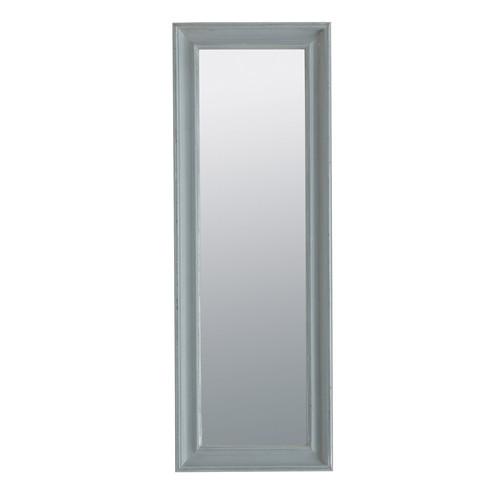 Miroir elianne gris 44x124 for Miroir 90x120