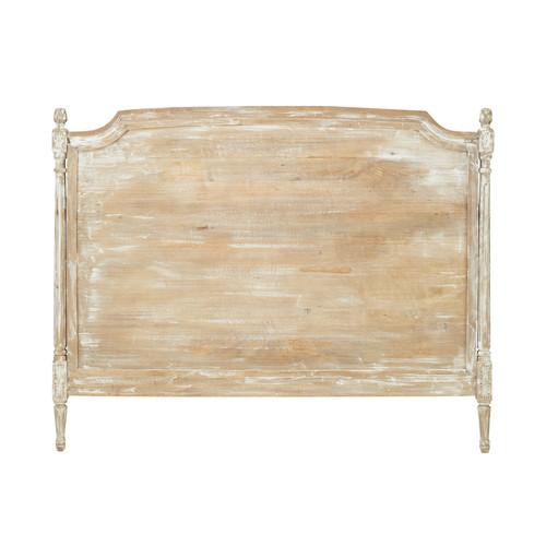 chenonceau t te de lit 140 bois gris pictures to pin on pinterest. Black Bedroom Furniture Sets. Home Design Ideas
