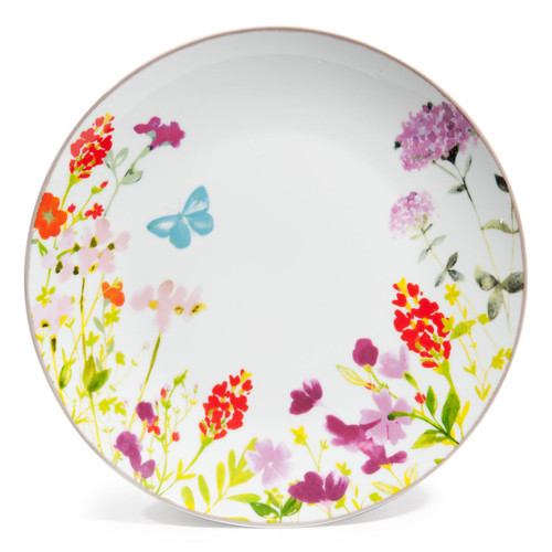 idylle porcelain dinner plate multicoloured d 27cm. Black Bedroom Furniture Sets. Home Design Ideas