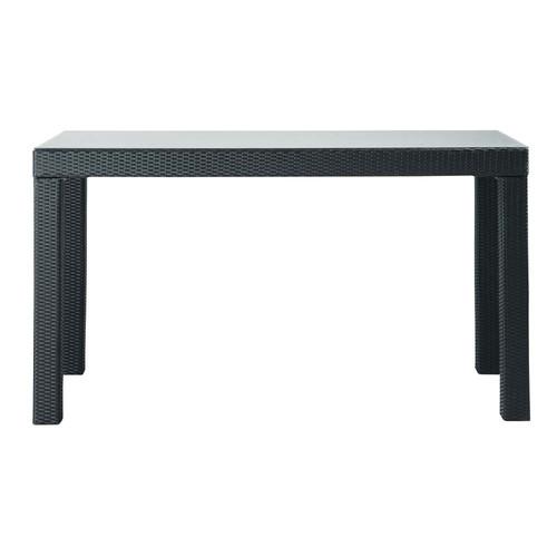 Table de jardin haute rectangulaire miami maisons du monde - Table de bar haute rectangulaire ...