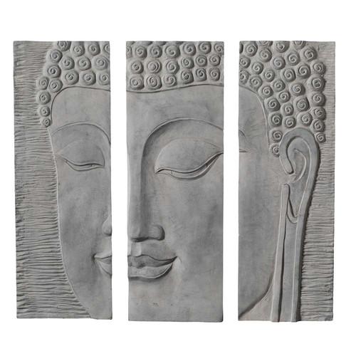Triptyque bouddha maisons du monde - Lampe bouddha maison du monde ...