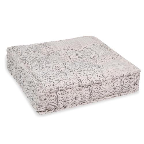 Cuscino da pavimento in cotone 60 x 60 cm codosera - Cuscino da pavimento ikea ...