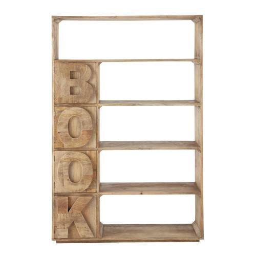 tag re sculpt e en manguier massif l 120 cm alphabet maisons du monde. Black Bedroom Furniture Sets. Home Design Ideas