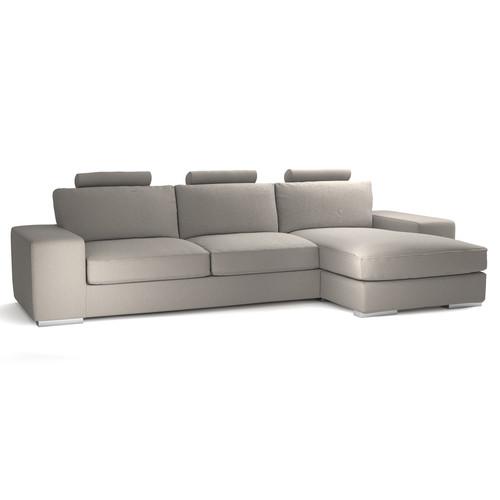 Sof de esquina personalizable fijo de 5 plazas daytona for Sofa exterior esquina