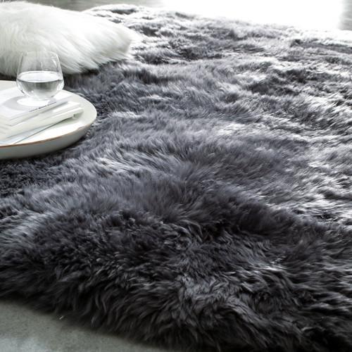 teppich auckland grau 140x200 maisons du monde. Black Bedroom Furniture Sets. Home Design Ideas