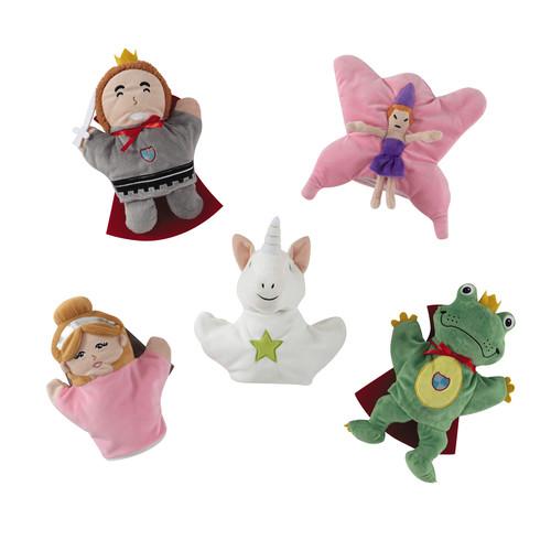 5 marionnettes enfant en tissu princesse maisons du monde. Black Bedroom Furniture Sets. Home Design Ideas