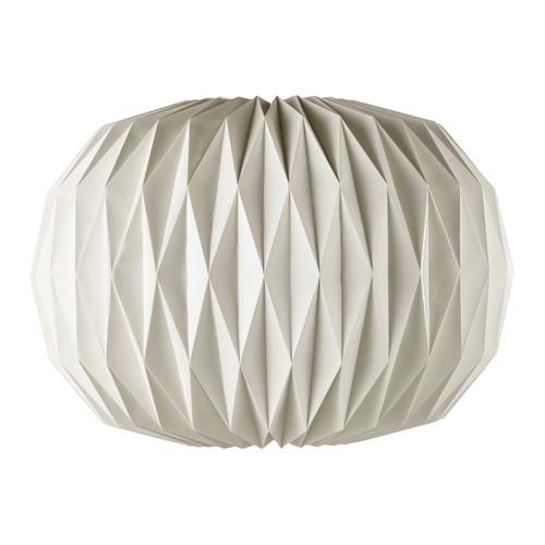 suspension en papier blanche d 70 cm zen maisons du monde. Black Bedroom Furniture Sets. Home Design Ideas