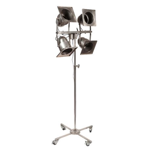 lampadaire 4 spots orientables en m tal h 197 cm taylor maisons du monde