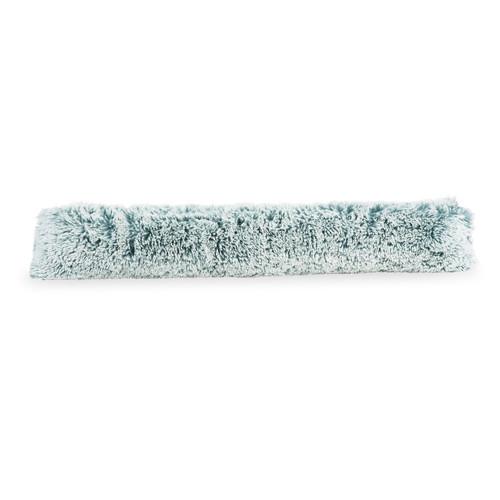 boudin de porte en fausse fourrure bleu 17 x 96 cm. Black Bedroom Furniture Sets. Home Design Ideas