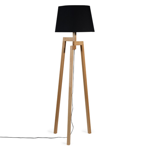 lampadaire bois trepied. Black Bedroom Furniture Sets. Home Design Ideas