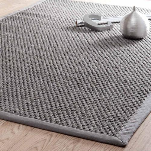 Ikea Overbed Table Measurements ~ Tapis tressé en sisal gris 160 x 230 cm BASTIDE  Maisons du Monde