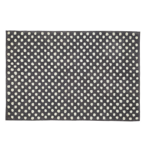Tapis gris anthracite dolly maisons du monde - Tapis gris anthracite ...