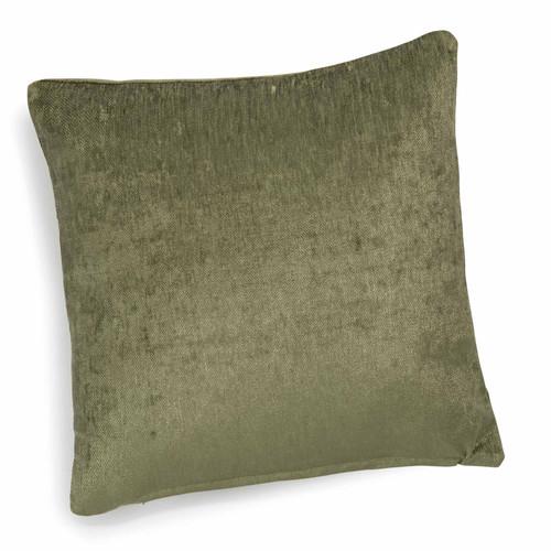 coussin en velours vert 45 x 45 cm vintage velvet liane maisons du monde. Black Bedroom Furniture Sets. Home Design Ideas