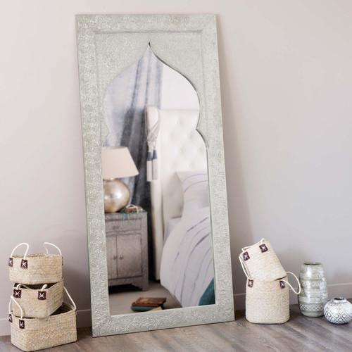miroir en bois h 160 cm latipur maisons du monde. Black Bedroom Furniture Sets. Home Design Ideas