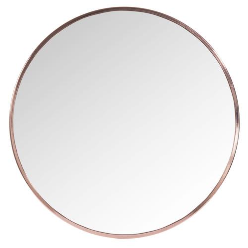 miroir rond en m tal cuivr d 50 cm grazzia maisons du monde. Black Bedroom Furniture Sets. Home Design Ideas