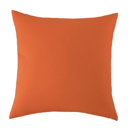Coussin d 39 ext rieur orange 50 x 50 cm maisons du monde - Coussin banquette exterieur ...