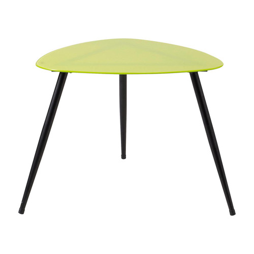 Table basse vintage verte Rainbow  Maisons du Monde