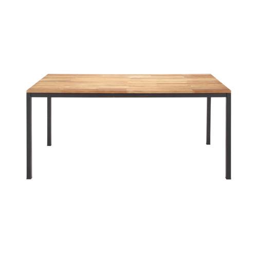Table de jardin aluminium maison du monde for Maison du monde mobilier de jardin