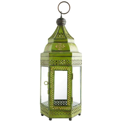 Lanterne caravane verte - Lanterne maison du monde ...