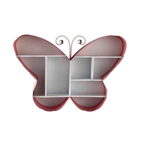 Etag re murale butterfly maisons du monde - Etagere murale maison du monde ...