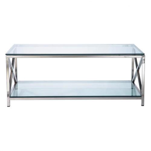 couchtisch aus glas und metall b 110 cm helsinki helsinki. Black Bedroom Furniture Sets. Home Design Ideas
