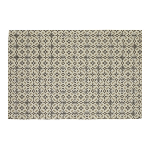 Tapis motif carreaux de ciment 140 x 200 cm hortance maisons du monde - Tapis carreaux de ciment ...