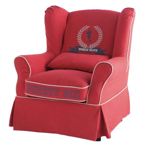 fauteuil enfant rouge cottage maisons du monde. Black Bedroom Furniture Sets. Home Design Ideas