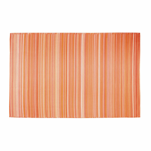 tapis d 39 ext rieur en polypropyl ne orange 180 x 270 cm vitamine maisons du monde. Black Bedroom Furniture Sets. Home Design Ideas