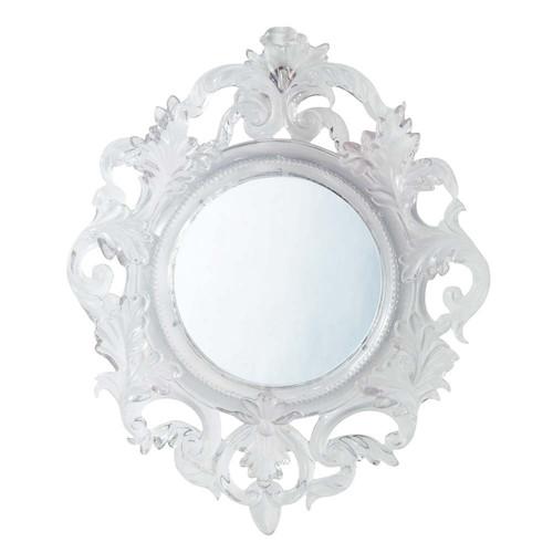 miroir baroque translucide maisons du monde. Black Bedroom Furniture Sets. Home Design Ideas