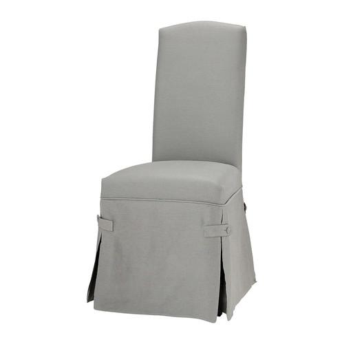 Housse de chaise gris clair - Housse de chaise la redoute ...