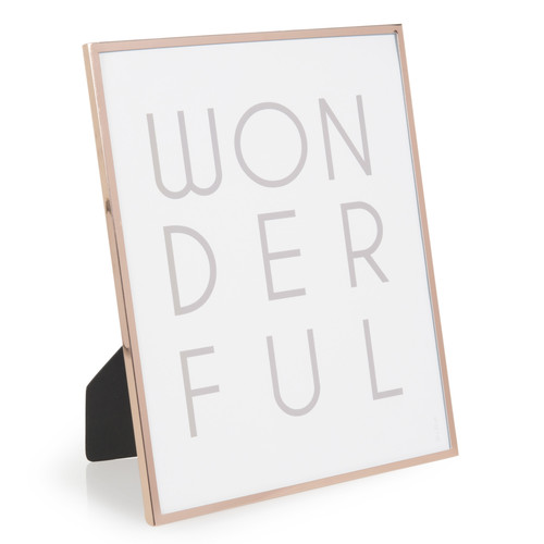 cadre photo en m tal cuivr 20 x 25 cm janid copper. Black Bedroom Furniture Sets. Home Design Ideas