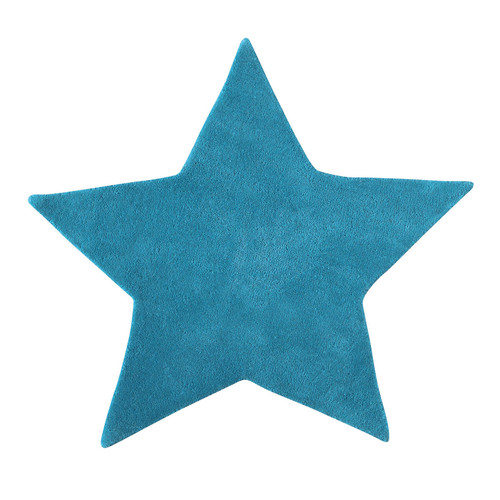 Tapis Chambre Bébé Fille : Turquoise Star Rug