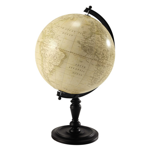 globe terrestre en bois h 77 cm lavoisier maisons du monde. Black Bedroom Furniture Sets. Home Design Ideas