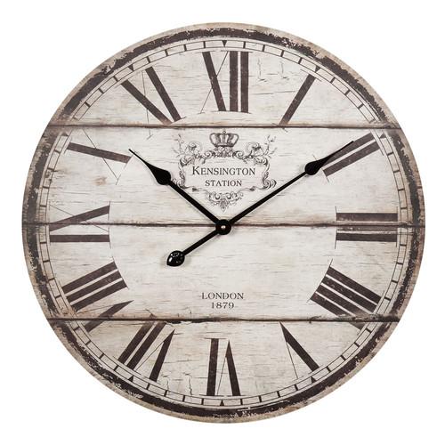 horloge en bois d 60 cm trianon maisons du monde. Black Bedroom Furniture Sets. Home Design Ideas