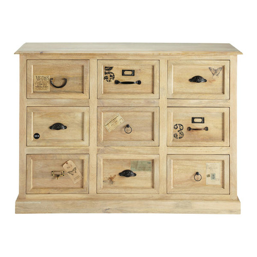 Comptoir meuble de m tier bois for Comptoir du meuble delson