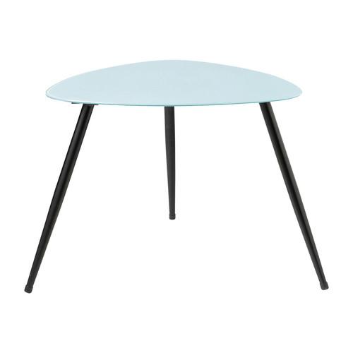 table basse vintage bleue rainbow maisons du monde. Black Bedroom Furniture Sets. Home Design Ideas