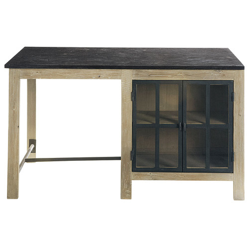 lot central en bois recycl l 150 cm copenhague maisons du monde. Black Bedroom Furniture Sets. Home Design Ideas