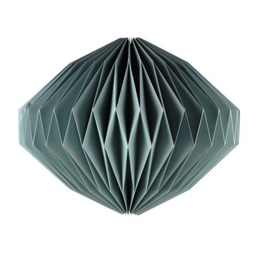 suspension non lectrifi e en papier bleu d 55 cm laponie. Black Bedroom Furniture Sets. Home Design Ideas