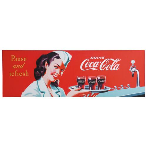 Toile Fresh CocaCola  Maisons du Monde