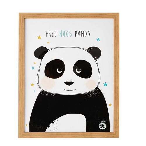tableau panda 43 x 53 cm ping maisons du monde. Black Bedroom Furniture Sets. Home Design Ideas