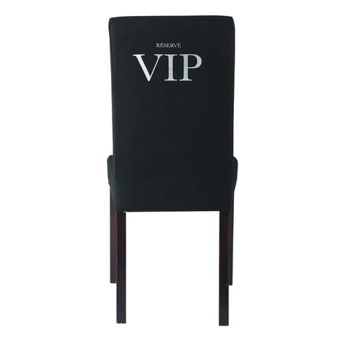 housse de chaise vip margaux maisons du monde. Black Bedroom Furniture Sets. Home Design Ideas