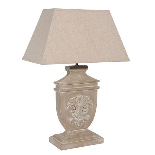 Lampe lys bois c rus - Lampe maisons du monde ...
