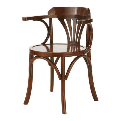chaise bois brasserie maisons du monde. Black Bedroom Furniture Sets. Home Design Ideas
